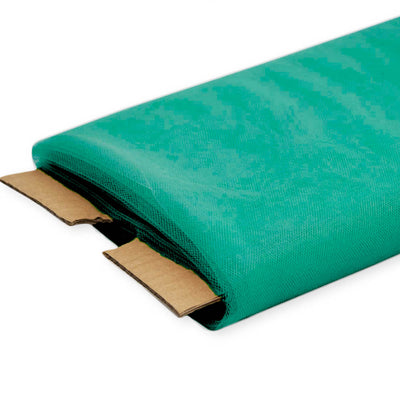 Emerald Nylon Tulle Fabric, 54