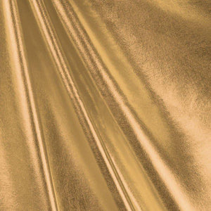 Gold Dull All Over Foil Spandex