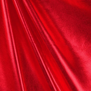 Red Dull All Over Foil Spandex