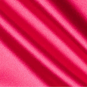 Fuchsia Crepe Back Satin Fabric