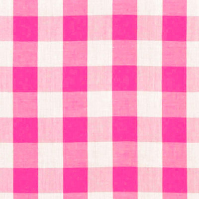 Fuschia Checkered Gingham 1