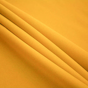 Gold Poly Poplin Fabric