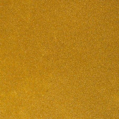 Gold Glitter Sparkle Metallic Faux Fake Leather Vinyl Fabric / 40 Yards Roll