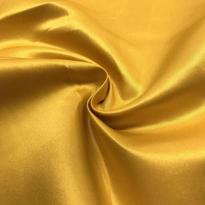Gold Dull Matte Bridal Satin Fabric