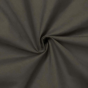 "60"" Charcoal Broadcloth Fabric"