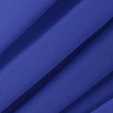 Royal Blue Chiffon Fabric