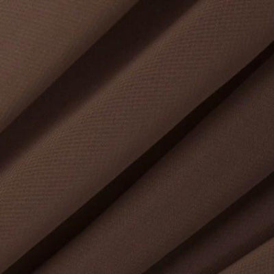 Brown Chiffon Fabric