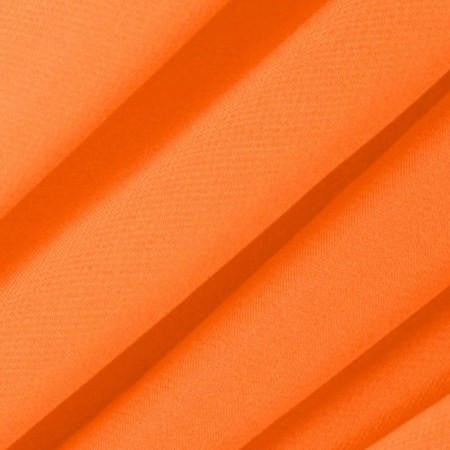 Orange Chiffon Fabric