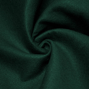 Hunter Green solid Acrylic Felt Fabric