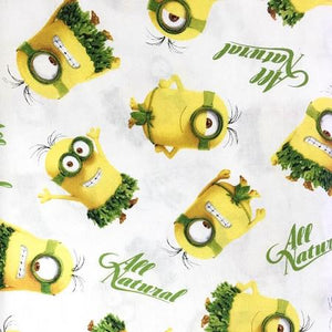 Despicable Me Cro Minion100% Cotton Print Fabric
