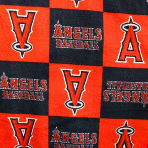 Los Angeles Angels Squares MLB Squares / Patch Type Polar