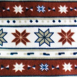 Tribal Stars Indian Print Anti Pill Fleece Fabric