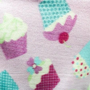 Sweet Cupcakes Anti Pill Fleece Fabric