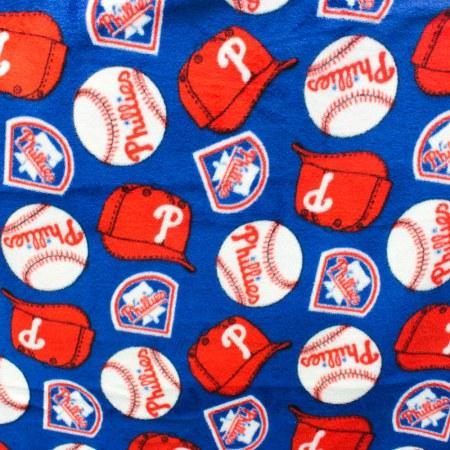 Philadelphia Phillies MLB Solid Polar Fleece Fabric