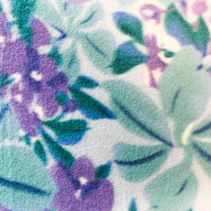 Wild Floral Anti Pill Fleece Fabric
