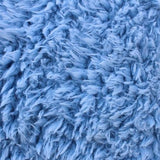 Curly Baby Blue Faux Fur Fabric