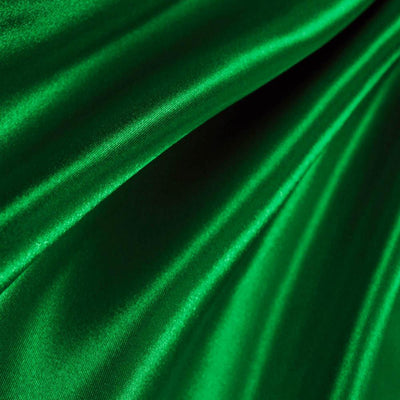 Emerald Green Poly Satin Fabric / 50 Yards Roll