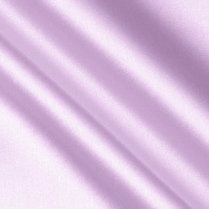 Lavender Crepe Back Satin Fabric