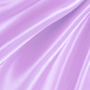 Lilac Poly Satin Fabric