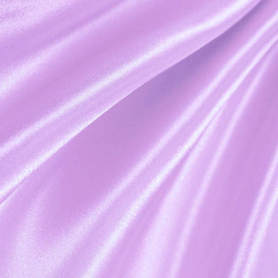 Lilac Poly Satin Fabric / 50 Yards Roll