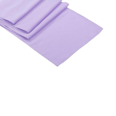 Lavender Polyester Table Runner