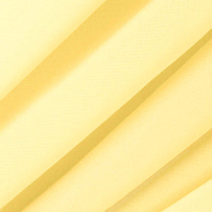 Light Yellow Chiffon Fabric