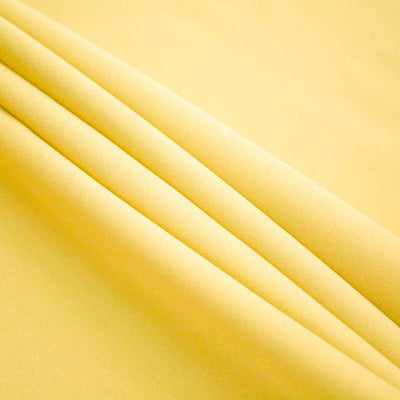 Yellow Polyester Poplin (60