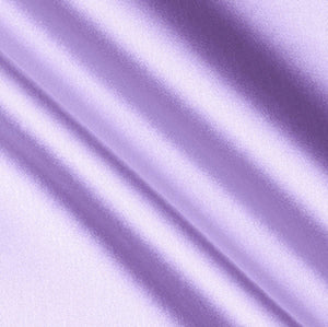 Lilac Crepe Back Satin Fabric