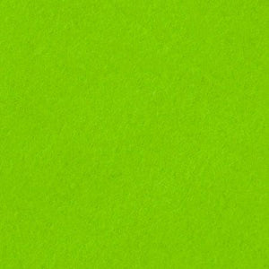 Lime Green Anti Pill  Solid Fleece Fabric