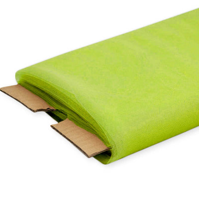 Lime Nylon Tulle Fabric, 54