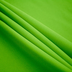 Lime Polyester Poplin Fabric