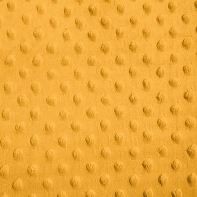 Mango Minky Dimple Dot Fabric