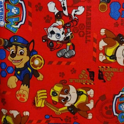 Marshall the Miracle Dog 100% Cotton Print Fabric