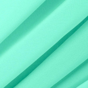 Mist Green Chiffon Fabric