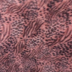 Mixed Animal Skin Anti Pill Fleece Fabric