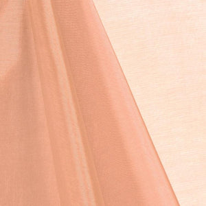 Peach Mirror Organza Fabric