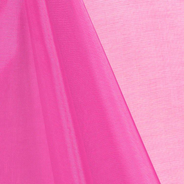 Hot Pink Mirror Organza Fabric