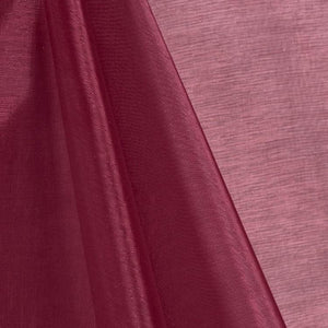 Burgundy Mirror Organza Fabric