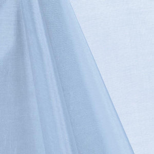 Baby Blue Mirror Organza Fabric