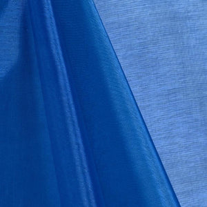 Royal Blue Mirror Organza Fabric