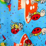 Mushroom Friend Anti Pill Fleece Fabric