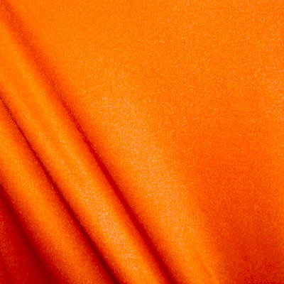 Neon Orange Shiny Nylon Spandex