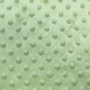 Asparagus Minky Dimple Dot Fabric