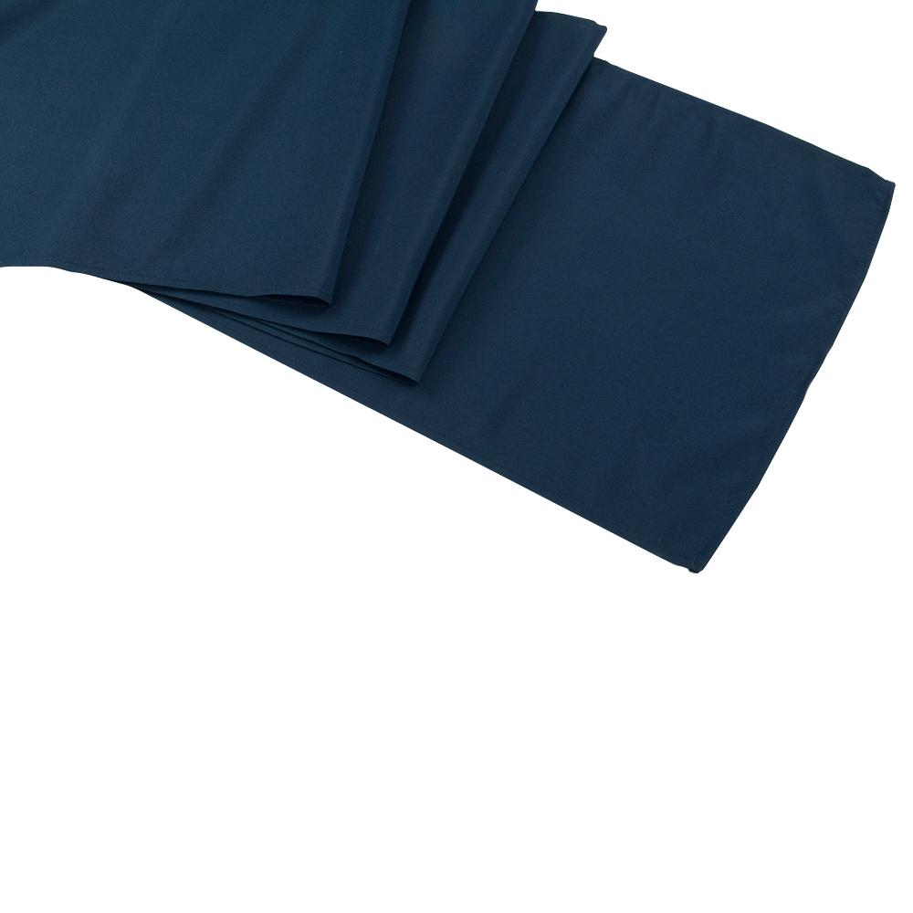 Navy Polyester Table Runner