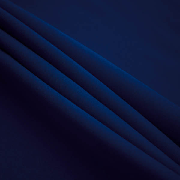 Navy Blue Polyester Poplin Fabric