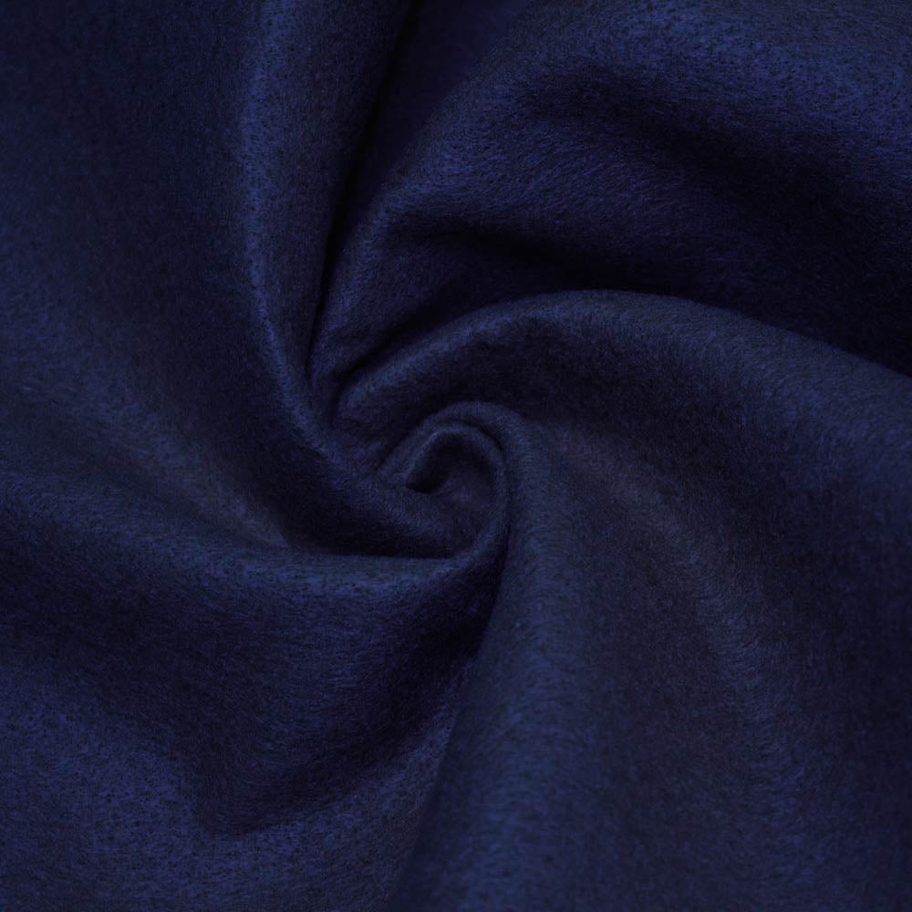 Navy Blue solid Acrylic Felt Fabric