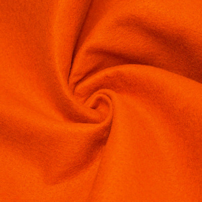Orange solid Acrylic Felt Fabric