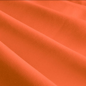 "60"" Orange Broadcloth Fabric"