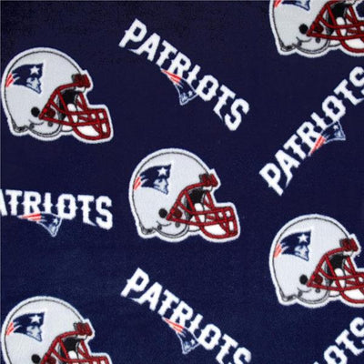 New England Patriots Solid NFL Fleece Fabric