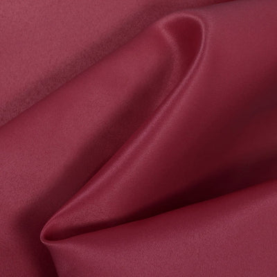 Burgundy Dull Matte Bridal Satin Fabric